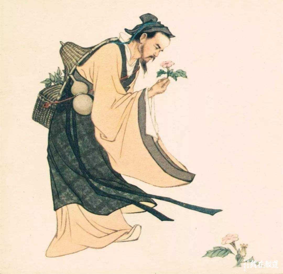 梁代著名道士陶弘景创立上清派